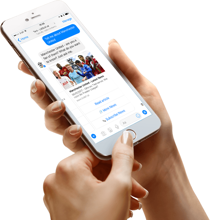 Football Soccer Messenger Chatbot