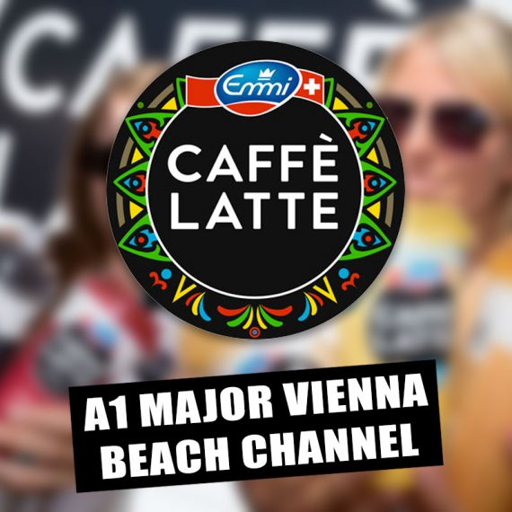 Emmi CAFFÈ LATTE - Beach Channel - A1 Major Vienna